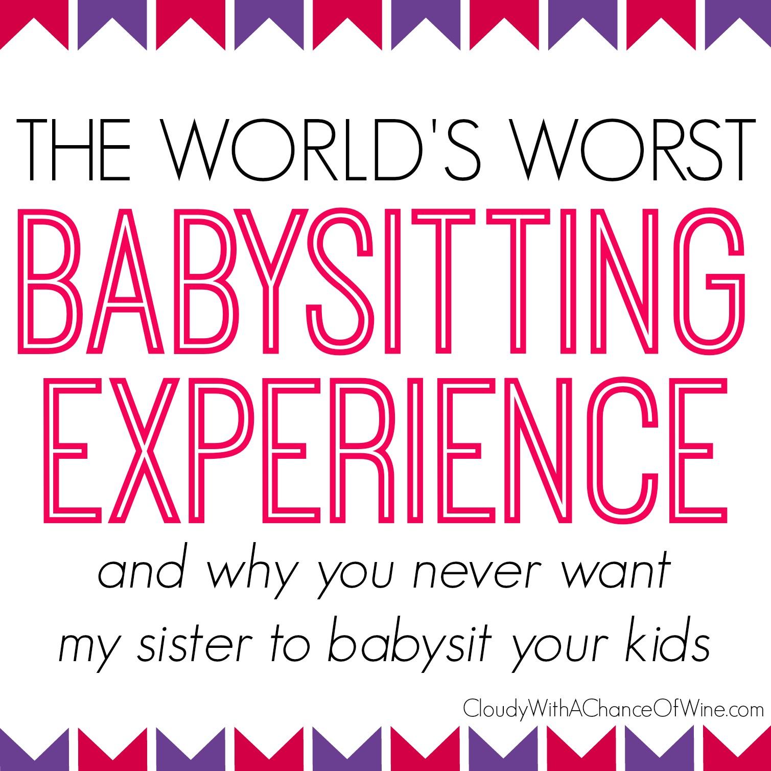 babysitting experience