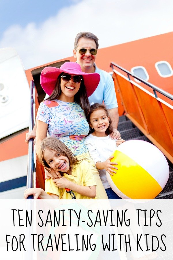 Whether you're traveling on a plane or in a car, embarking on a domestic trip or braving international travel, these sanity-saving ideas to help make traveling with kids easier is for you!