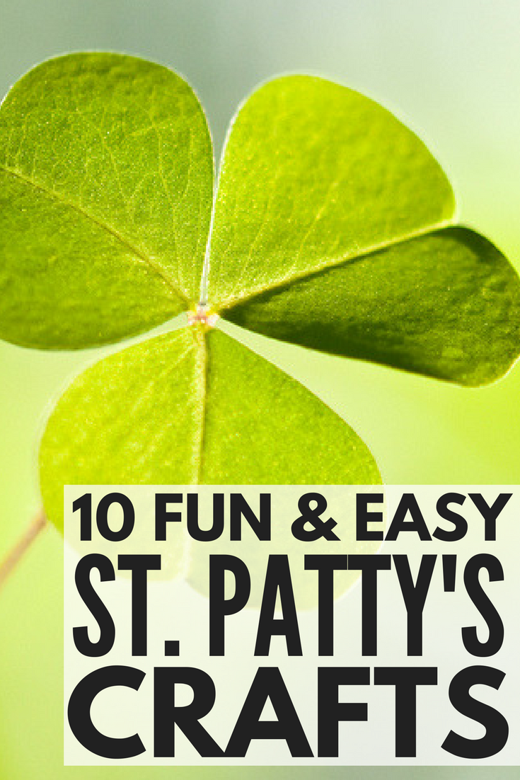 Looking for the perfect St. Patrick's Day crafts for kids to keep your little ones busy when it's too cold to go outside? We've got you covered. Whether you're looking for ways to keep toddlers and preschoolers entered at home, or need classroom ideas for schools, this collection of 10 shamrock, leprechaun, and rainbow activities are sure to be a hit.