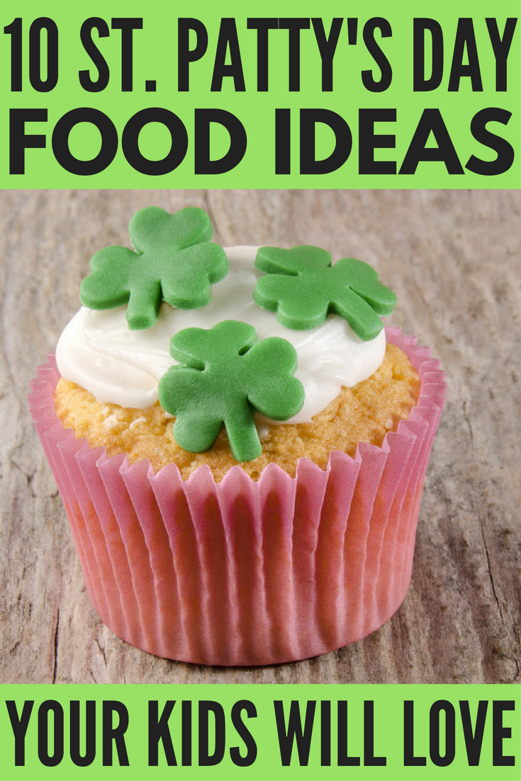 Looking for the perfect St. Patrick's Day food for kids to make March 17 a hit? Whether you're looking for school treats, healthy snacks, or fun ideas for breakfast, lunch, and dinner, we've got 10 St. Patrick's Day treats you and your little ones will love.