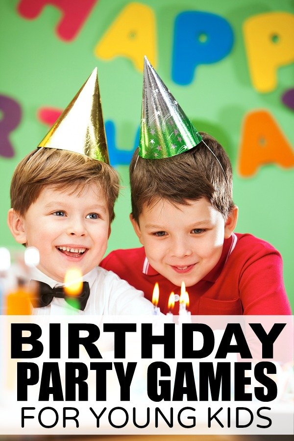 Birthday Party Games for Boys and Girls, Kids, Tweens and ...