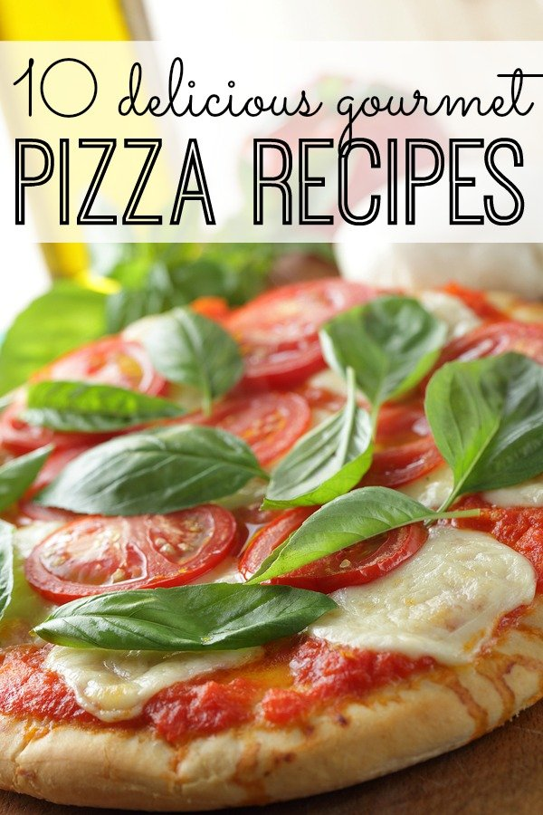 We all know how hard it is to find dinner ideas the WHOLE family will enjoy, but I guarantee there will be at least ONE option in this list of gourmet pizza recipes you and your clan can agree on! (Pssst - # 3 is my favorite!)
