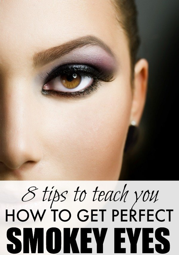 Love the look of sexy, smokey eyes, but don't feel confident enough to try it out yourself? No worries! This list of 8 helpful tips will teach you how to get the perfect smokey eye without hiring a professional make-up artist. Seriously.