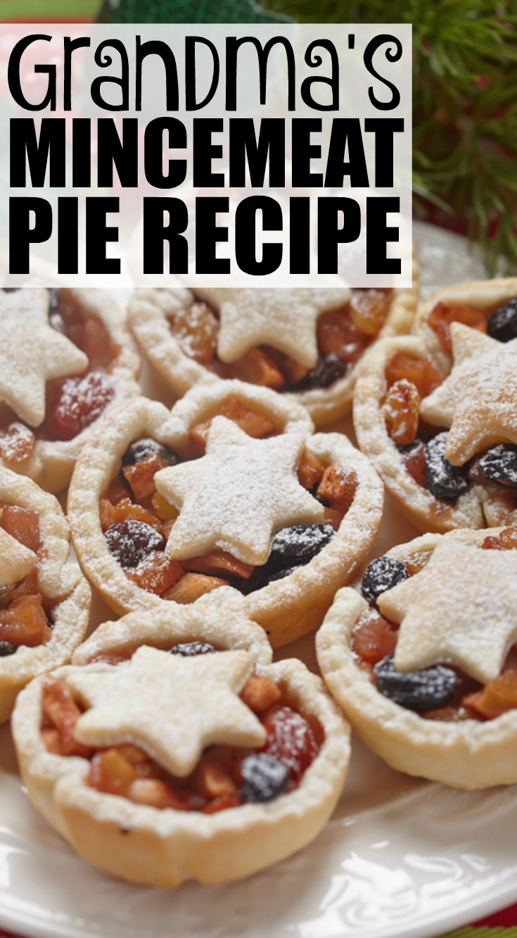 My grandma 39 s delicious mincemeat pie recipe for English mincemeat recipe