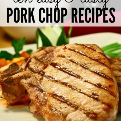 10 easy & tasty pork chop recipes