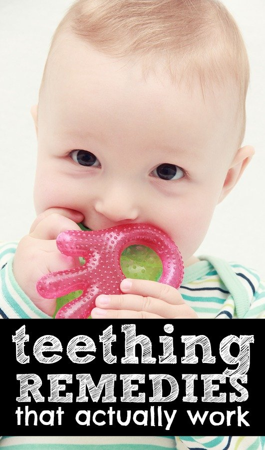 Looking for the best natural teething remedies to soothe your infant? We've got you covered. With candid advice from moms who have dealt with the pains of teething firsthand, this list of teething remedies to soothe nighttime (and daytime!) discomfort for you and baby is a must read for parents of teething children. Seriously.