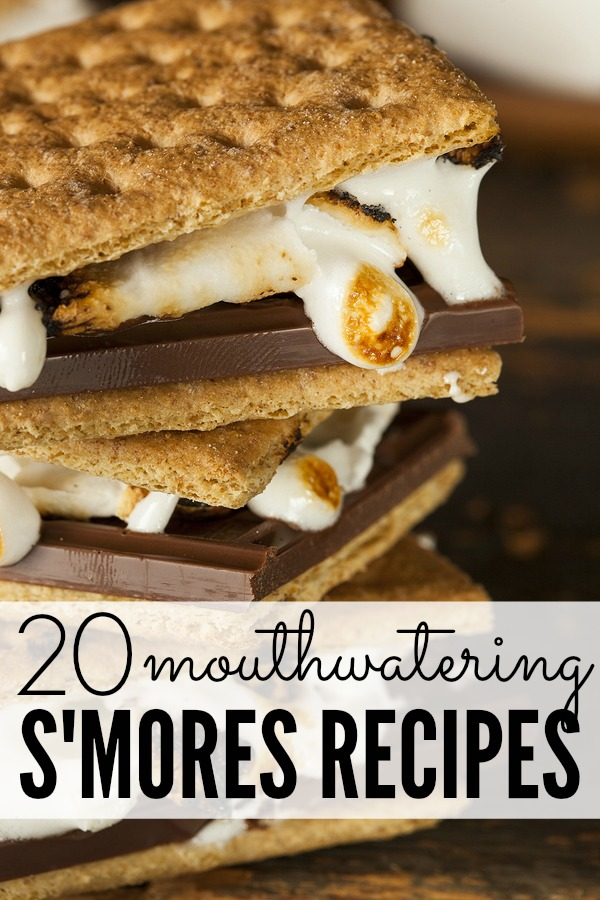 Where you're looking for easy desserts to enjoy over a campfire, or prefer to skip camping and want something you can make in your oven or crock pot instead, these mouthwatering s'mores recipes will NOT disappoint. With 20 different ways to enjoy graham crackers, these ideas are simple yet delicious and will keep your guests coming back for more.