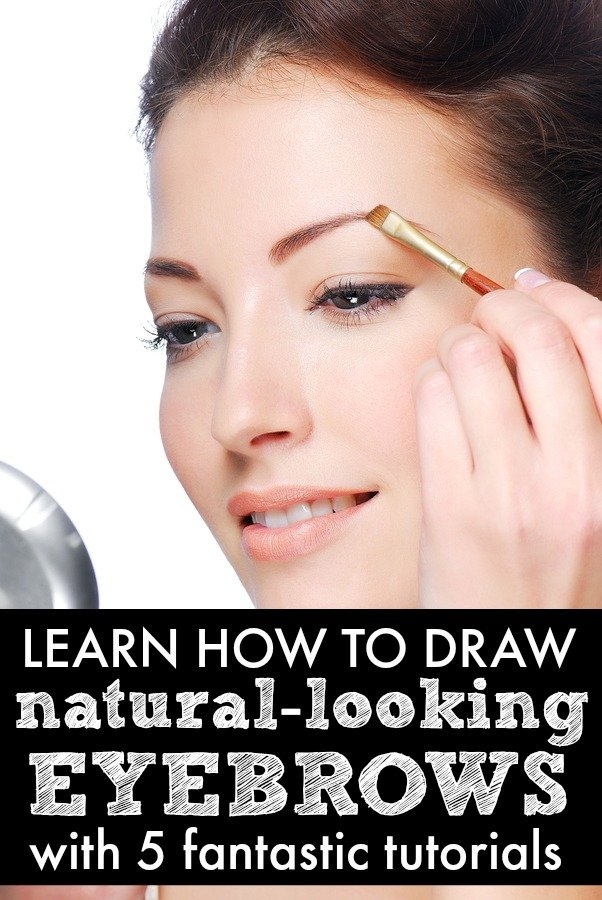 5 tutorials to teach you how to draw natural-looking eyebrows