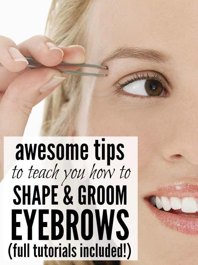 5 Tutorials To Teach You How To Shape Amp Groom Your Eyebrows