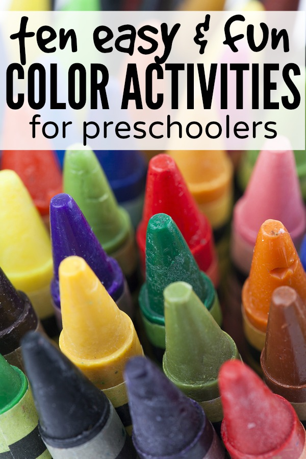 whether your preschooler is just learning her colors or has known them for years - Colour Activities For Preschoolers