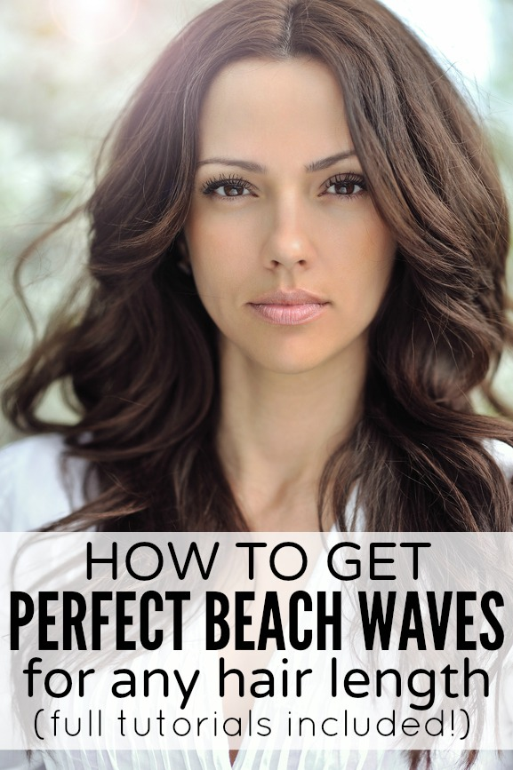 Pleasant How To Beach Curl Medium Length Hair Best Hairstyles 2017 Hairstyles For Women Draintrainus