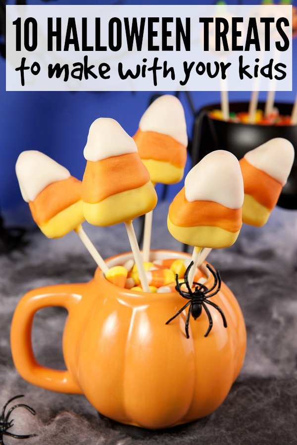 10 halloween treats to make with your kids for Halloween treats to make with kids