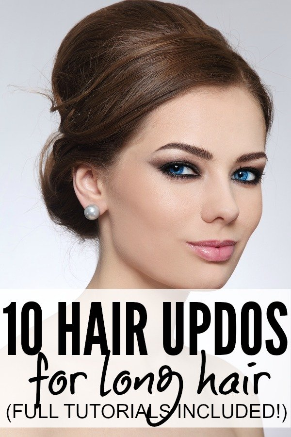 10 Simple Amp Sexy Fall Hair Updos For Long Hair
