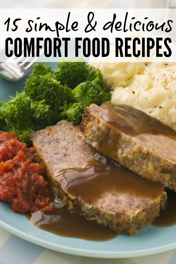 Whether you're feeling a little under the weather, need a little pick-me-up, or simply enjoy eating as much as I do, this collection of 15 simple & delicious comfort food recipes is for you!