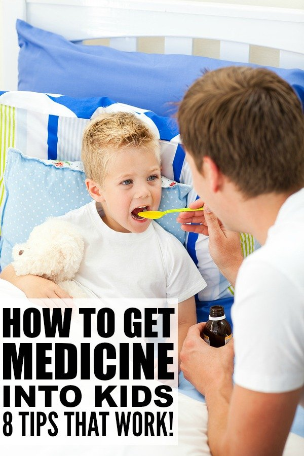 8 effective tricks to help you get medicine into kids