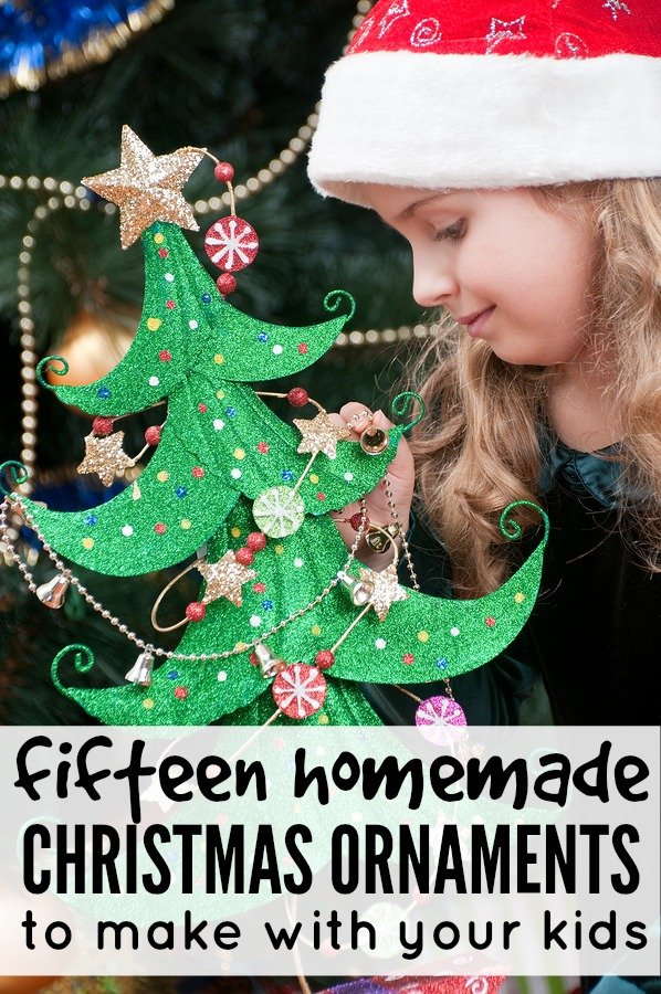 15 Homemade Christmas Ornaments To Make With Your Kids
