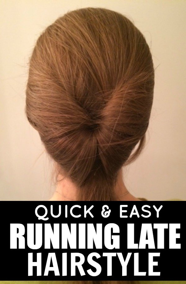 Whether you pressed snooze one too many times this morning, lost track of time on Pinterest, or simply cannot be bothered to wash your hair, this quick and easy running late hairstyle is just what you need to make yourself look and feel glamorous!