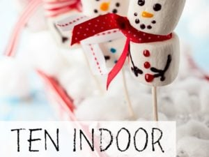 10 indoor snow activities