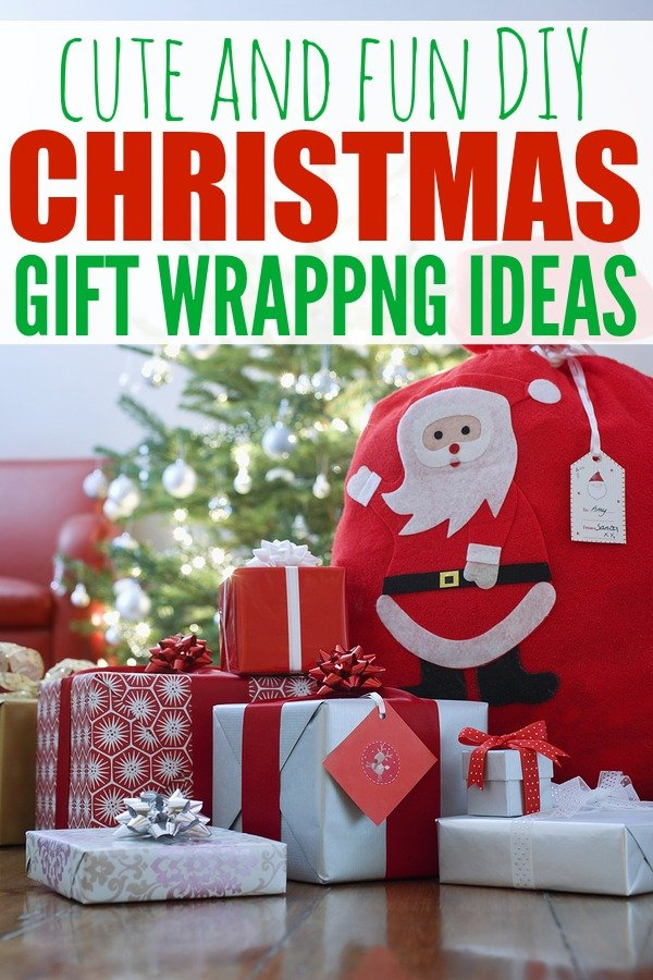 If you've (finally!) found the prefect Christmas gift ideas for your friends and family, why not go the extra mile and spice up your packages with these easy DIY Christmas gift wrapping ideas?! They are especially perfect for those crazed moments when you need to figure out how to wrap a present when you've run out of wrapping paper - trust me!