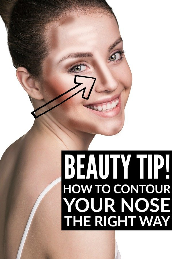 On the hunt for tutorials to teach you how to make your nose look smaller without getting a nose job? We've got you covered! All you need is a little contour and highlight as well as the right brushes and makeup application techniques, and you can make your nose (and face!) look thinner in no time. This tutorial dishes the best beauty tips of my favorite makeup artist and will transform the shape of your nose instantly. Who says learning how to contour your nose needs to be complicated?!