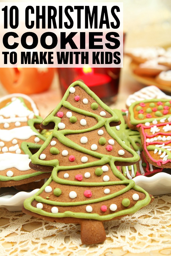 Christmas Cookie Recipes For Kids House Cookies