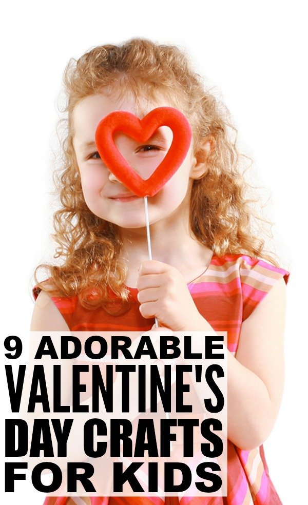 Looking for the perfect DIY Valentine's ideas to keep your kids busy when it's too cold to go outside? Me too! And that's why I put together this fabulous collection of simple and easy Valentine's Day crafts for kids. These art projects are great to make as keepsakes for Grandparents, and work for classroom activities and themed birthday parties as well.