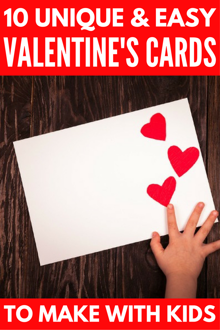 10 adorable DIY Valentines Day cards to make with your kids