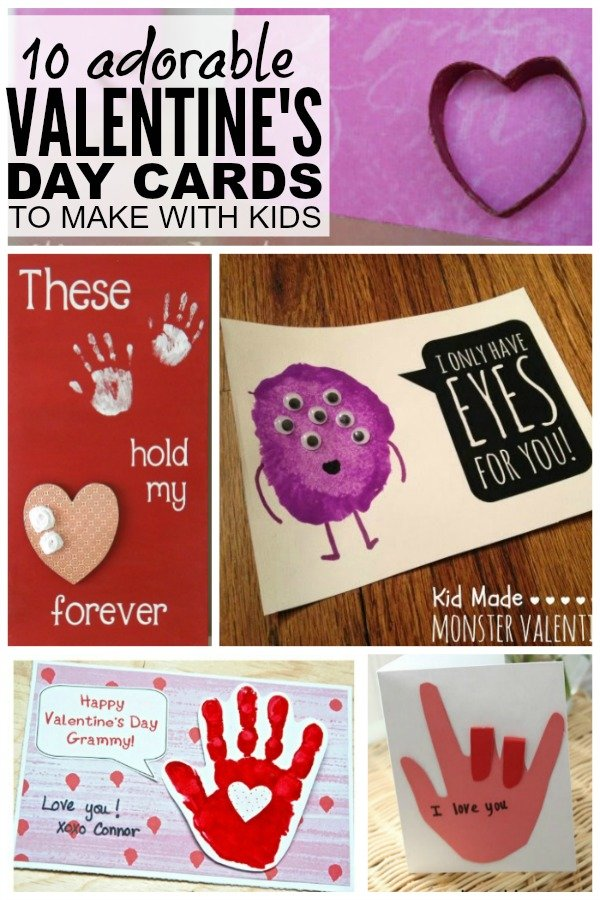Diy childrens valentines day cards diy projects How to make a valentine card for your girlfriend