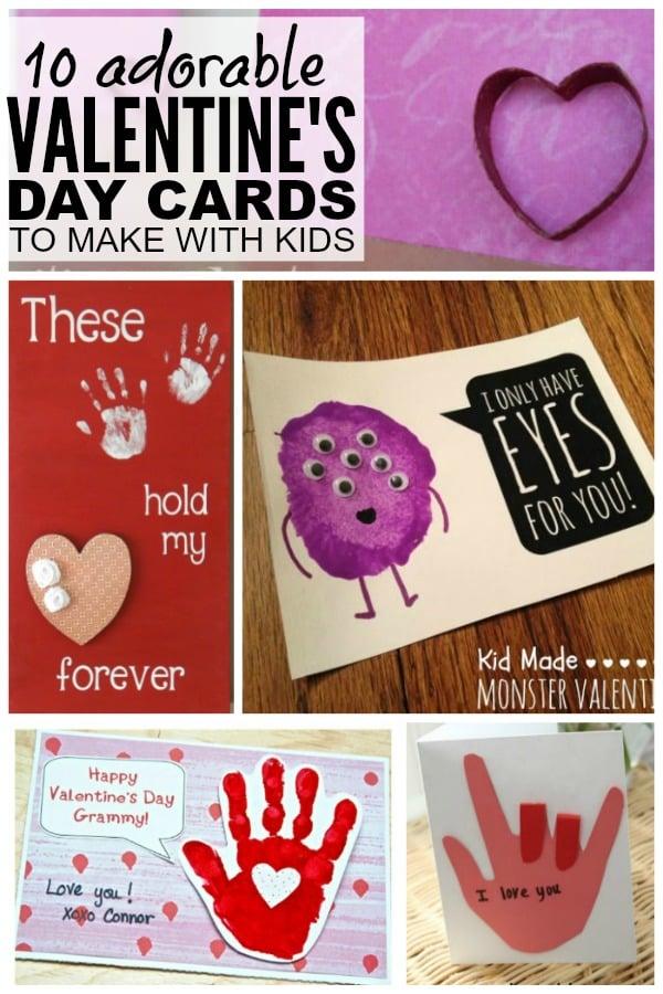 Diy Valentines Cards ? Craftbnb   Diy Childrens Valentines Day Cards