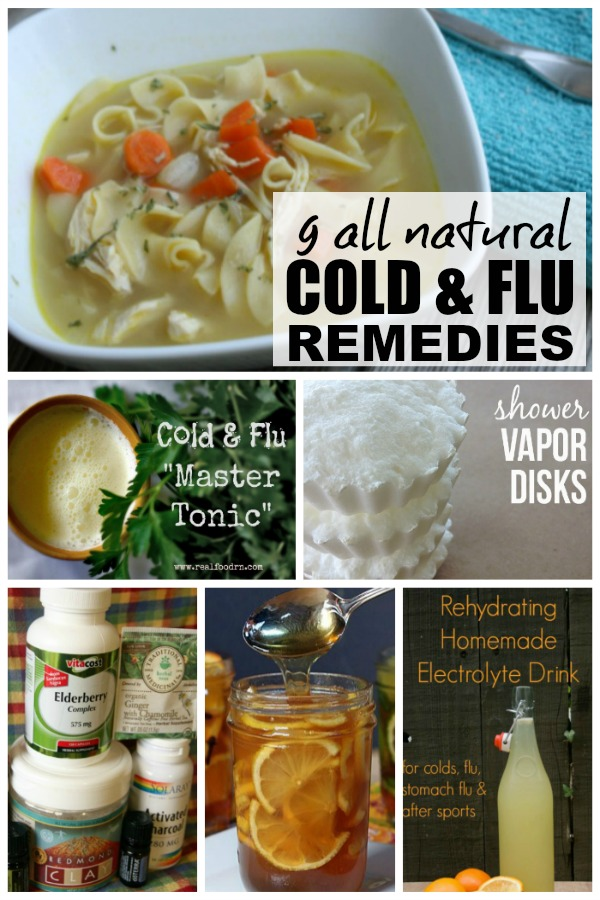 There are so many things I hate about winter, but cold and flu season is by far the worst, especially since I'm the mom and wife to 2 human beings who REFUSE to take any kind of medication. So I've been on the hunt for some natural cold remedies and flu remedies, and I decided to share the love by throwing them together into a master Cold and Flu Remedies post. I particularly like #s 4 & 5!