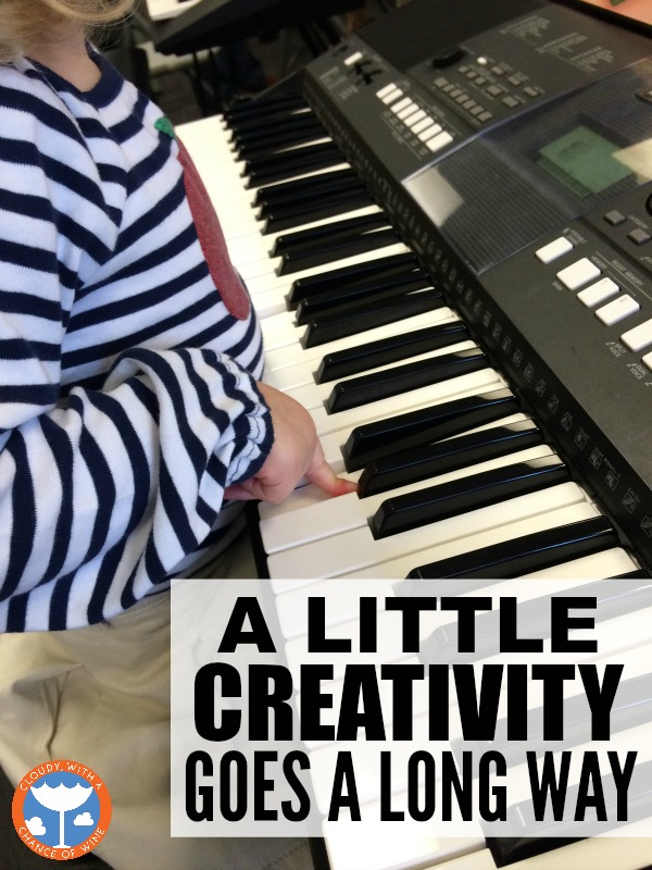 A post about #YamahaKids and how a little creativity goes a long way when it comes to music homework.