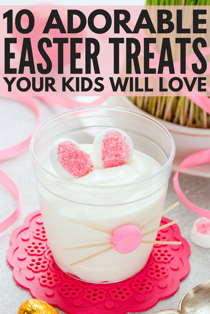 Looking for the perfect Easter food ideas for kids to get your little ones in the Easter spirit? Whether you're looking for fun things to make for breakfast, healthy treats to pack in their lunch, or glutinous desserts for an after dinner treat, these easy DIY Easter treats are sure to get your children excited about Easter for years to come!