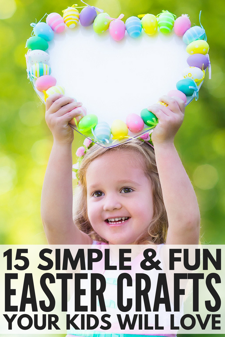 Looking for easy Easter crafts for kids to get your little ones in the Easter spirit? We've got you covered. Whether your kids are in preschool, kindergarten, or elementary school, this collection of fun ideas offers the perfect after school activities to keep little hands busy. It's amazing what a few cotton balls, popsicle sticks, and a bit of paint and glue can do!