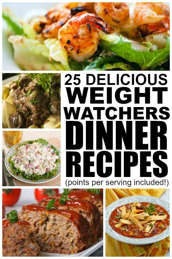 If you're looking for Weight Watchers meals that are delicious yet easy to make, this collection of 25 Weight Watchers dinner recipes with points is just what you need. You can access these recipes for free, and we've included the total points per serving so you don't have to mess around with your calculator. These recipes work for newbies who need a simple start as well as veterans who want to spice up their weekly meal plans. Enjoy!