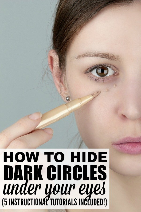 5 Tutorials To Teach You How To Cover Dark Circles Properly