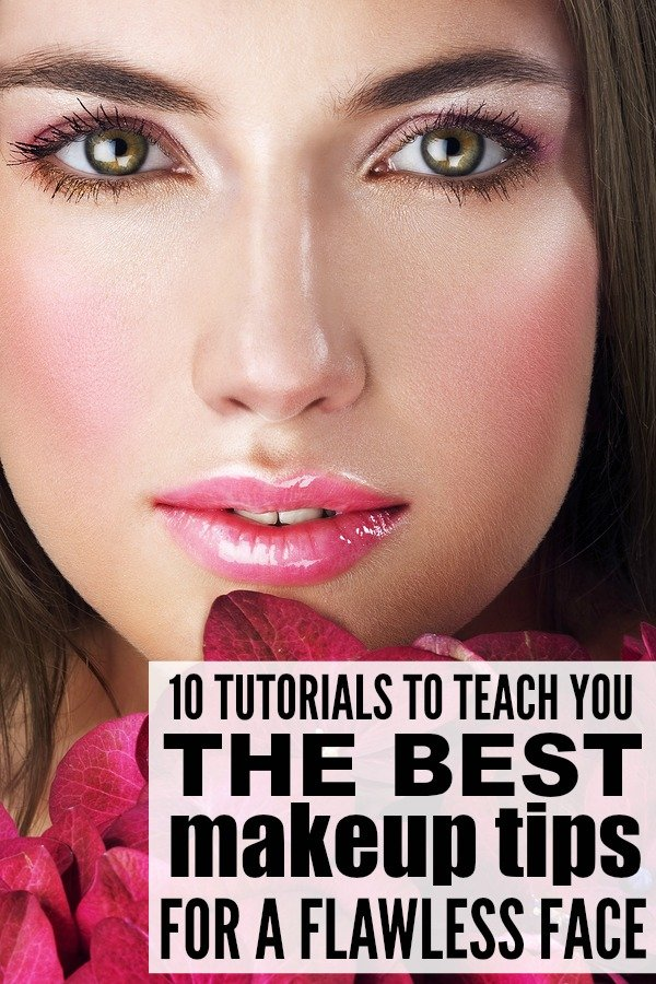 The Best Makeup Tips For A Flawless Face