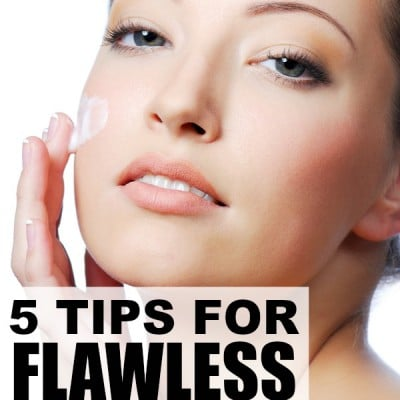 5 skin care hacks for flawless skin