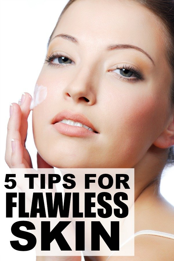 If you're looking for new techniques and products to improve your skin care routine after the harsh, cold winter weather, these 5 skin care tips for flawless skin are just what you need for a healthy glow this summer!