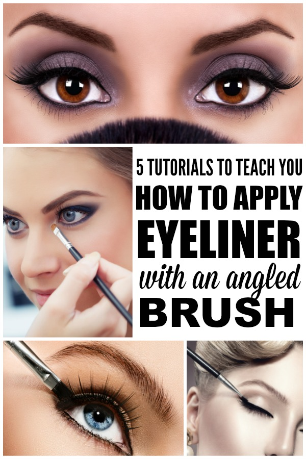 How to use cream eyeliner