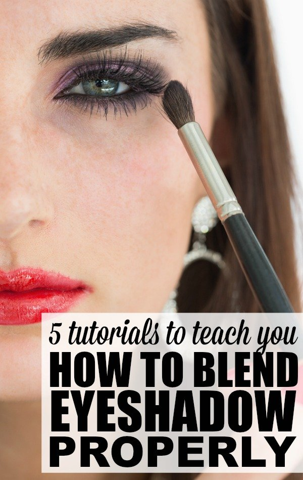 5 Tutorials To Teach You How To Blend Eyeshadow Properly