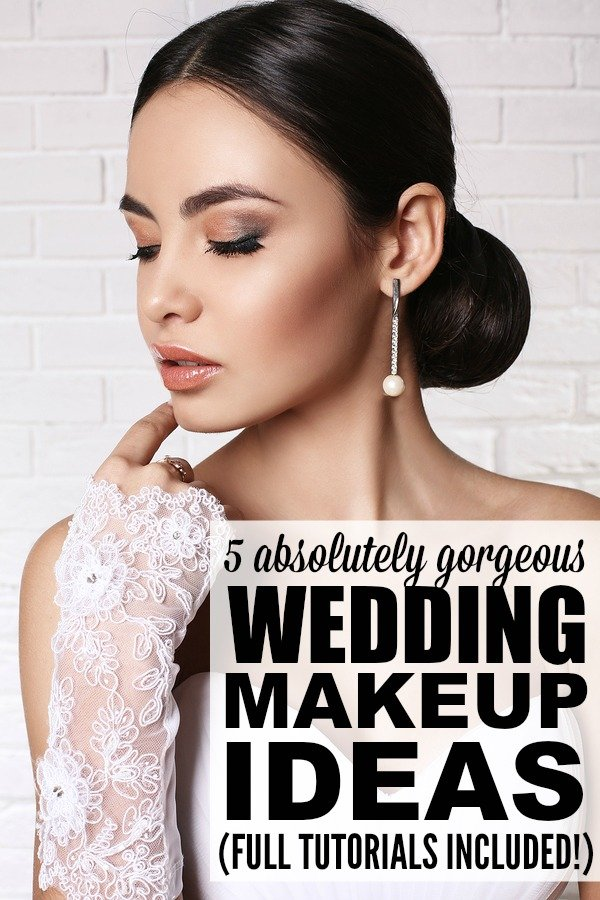 Vintage Wedding Makeup Tutorial : 5 wedding makeup tutorials