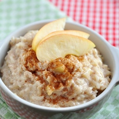 My dad's 4-ingredient rice pudding recipe