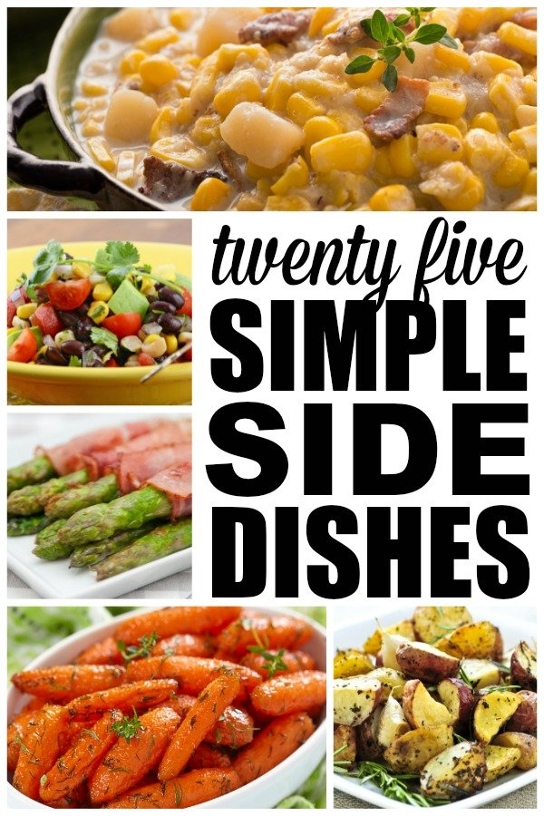 25 easy side dishes for Easy side dishes to make