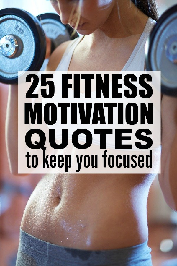 If you're looking for a little inspiration to help with your fitness and weightloss goals, this collection of 25 fitness motivation quotes for women will give you the boost you need to get the sexy, defined body you deserve. I chant # 10 to myself daily, and # 19 makes running on the treadmill seem less painful. ;)