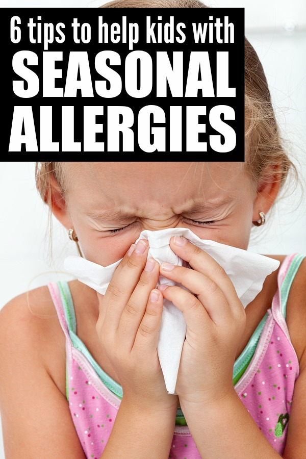 If your kids suffer from seasonal allergies, but you don't want to spend the entire summer cooped up inside watching Dora the Explorer re-runs, these tips to help kids with seasonal allergies are just what you need to keep your kids comfortable and happy!
