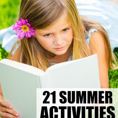 28 easy summer activities to get your child ready for kindergarten