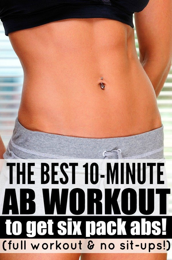 Want to get a six pack without investing in ab challenges and ab routines (like the 21 Day Fix) that you don't have the time or money for? We've got you covered. This fat burning 10 minute abs workout video for women will teach you how to get beachbody abs without spending hours at the gym. Couple with a healthy diet, this no situp ab workout is your ticket to a flat stomach!