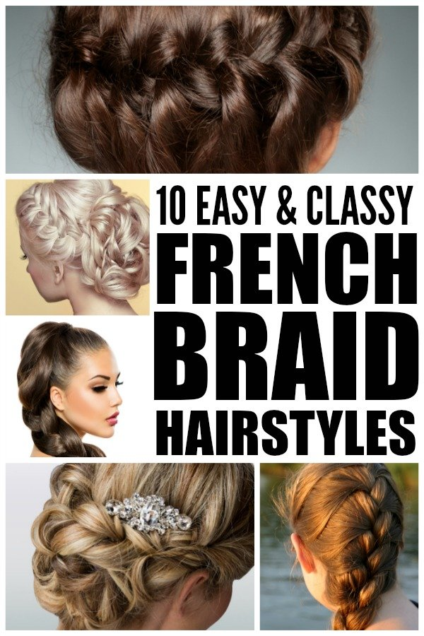 If you're looking for new and trendy summer hairstyles to dress up your look, you'll love this collection of 10 easy and classy French braid tutorials. Tutorial 1 will teach you how to French braid hair if you're new to the world of braided hairstyles, tutorials 6 and 10 will teach you how to sculpt your hair into a sexy French braid bun if you're looking for summer wedding hair ideas, and tutorial 9 is perfect if you have short hair. Good luck and enjoy!