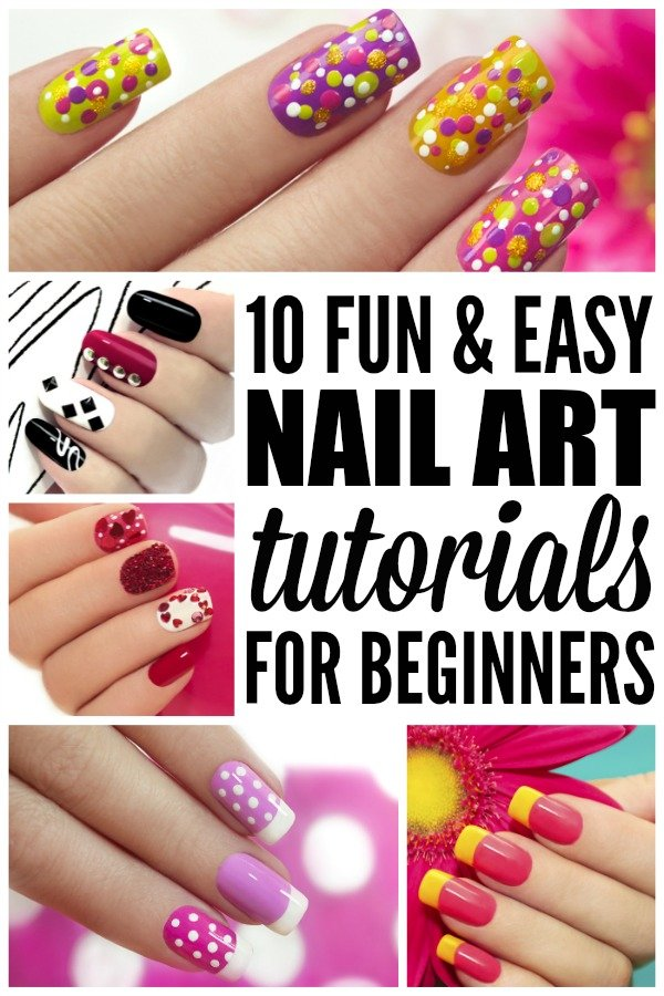10 Fun Amp Easy Nail Art Tutorials For Beginners