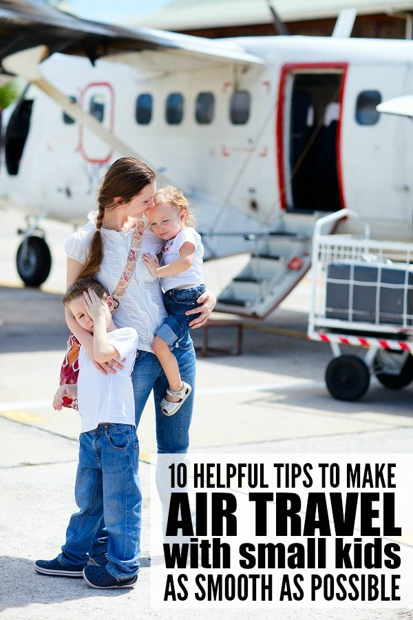 If air travel with small kids is in your future this summer, this collection of practical, helpful tips is just what you need to make it to your destination with your sanity in tact. I especially recommend tips 5 and 10!